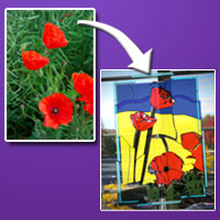 Convert A Still Photo Into 3D Animated Stained Glass – Vector Premium